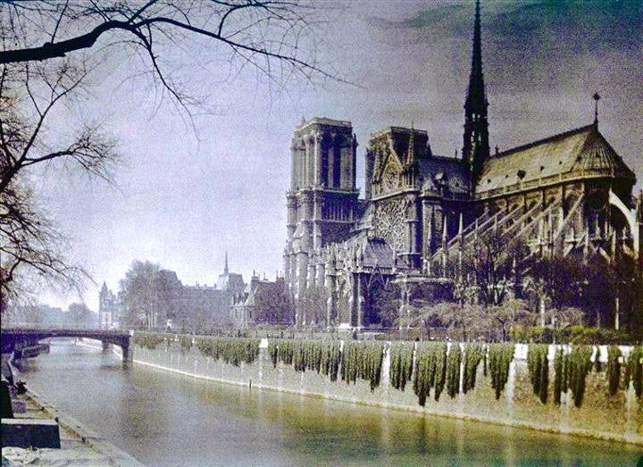Behold the Magnificence of These Early 1900's Autochromes from Paris, France