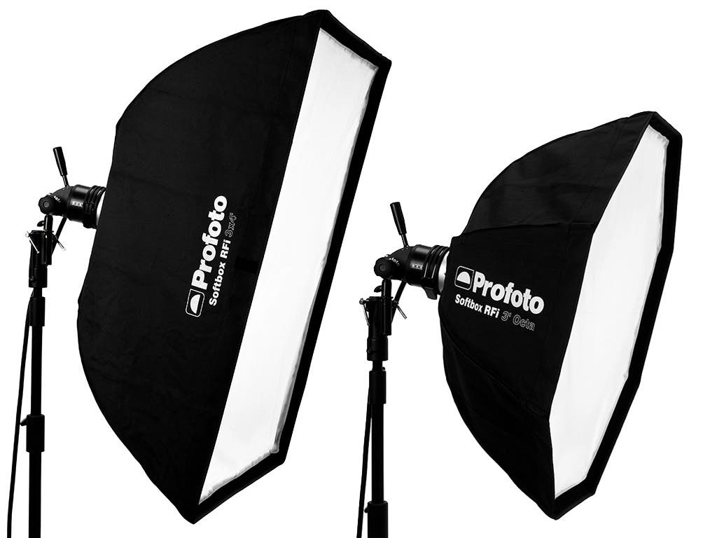 Review: Profoto RFi Softboxes (4×3′ & 3′ Octa)