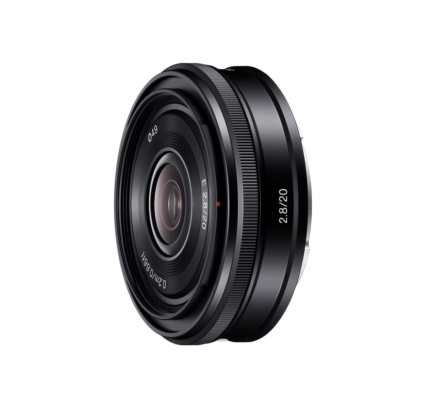Sony Announces a New Pancake for NEX: 20mm f2.8