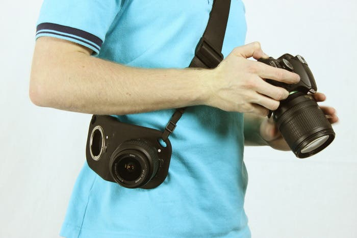 Draw Your Weapon Faster Than a Texas Ranger With The Nikon Lens Holster