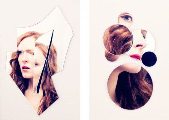 Exploring Self-Perception Via Broken Mirrors