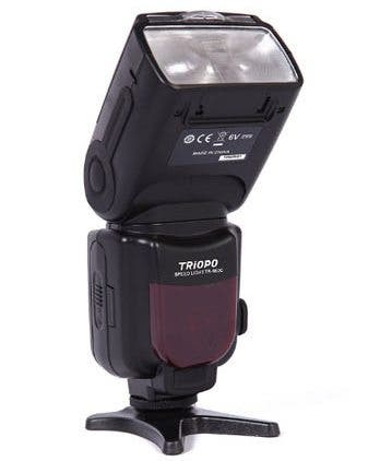 The Triopo TR-981 Flashes Feature TTL and High Speed Sync Firing
