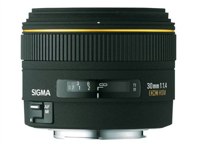 UPDATED Cheap Photo: $200 Rebate on the Original Sigma 30mm f1.4 EX