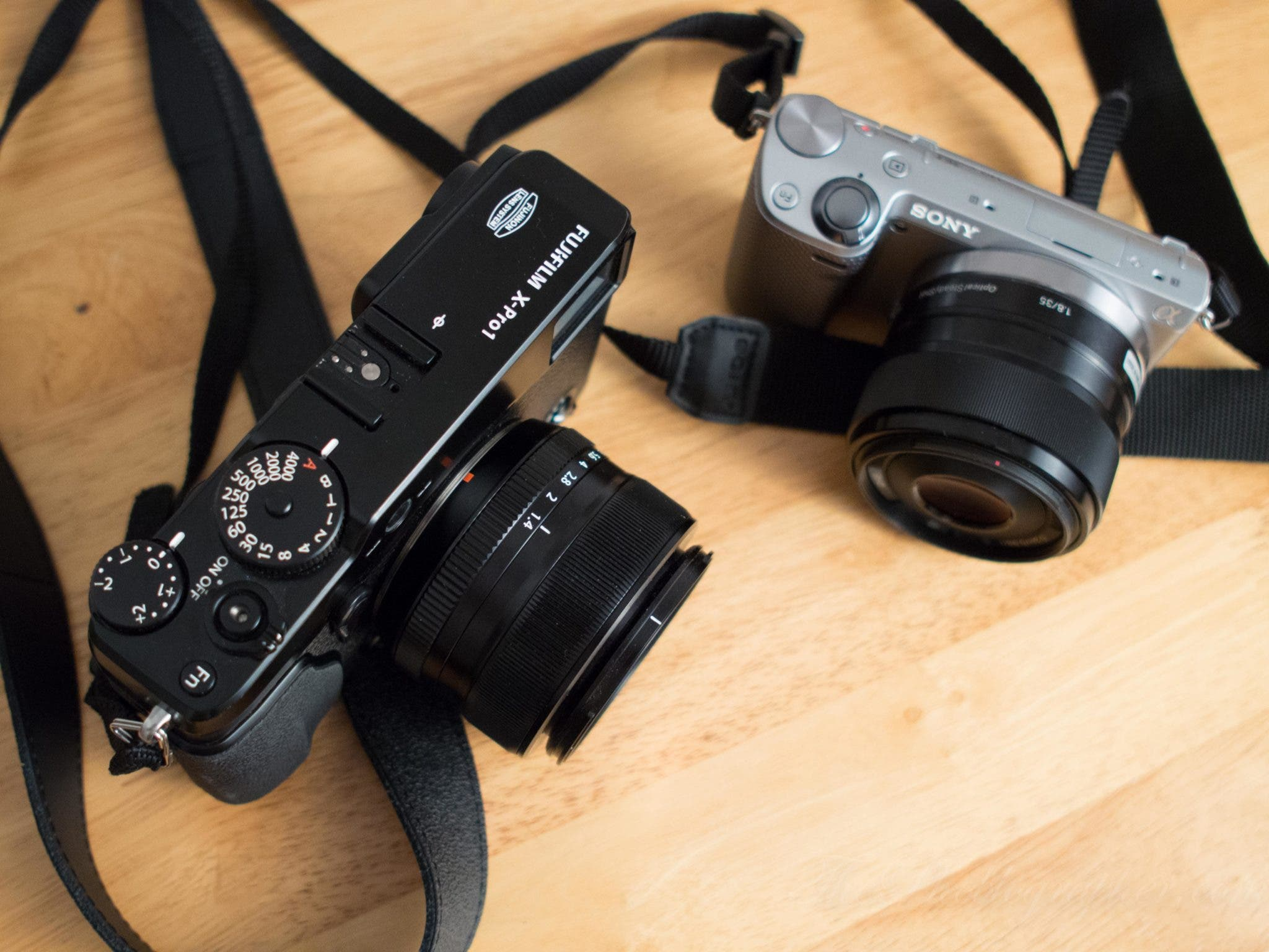 Informal Lens Comparison: Sony 35mm f1.8 (NEX) vs Fujifilm 35mm f1.4 (X Mount)