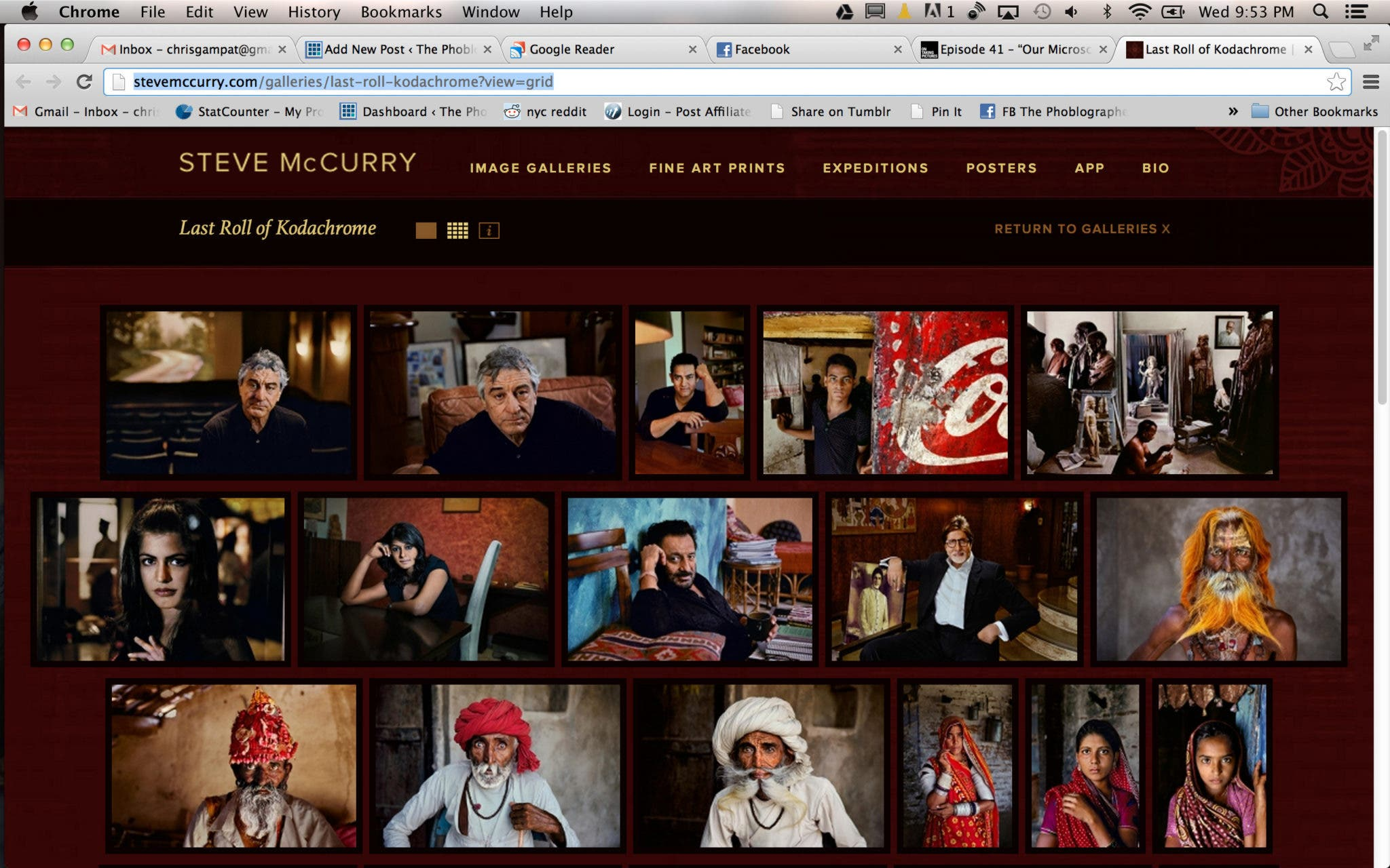 Most of the Photos from Steve McCurry's Last Roll of Kodachrome Are Now Live