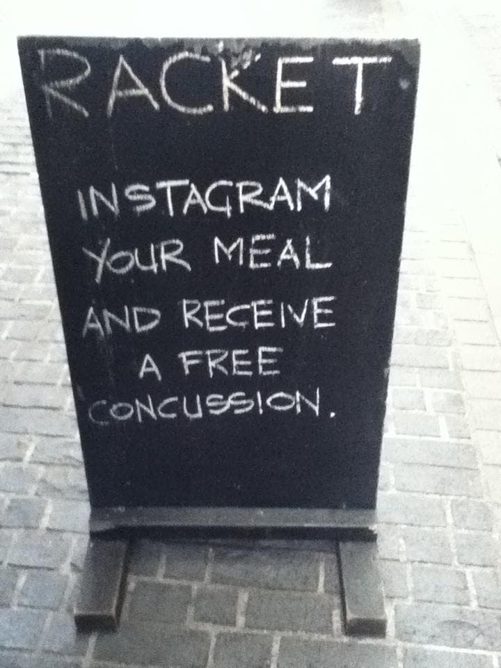 Weekend Humor: Instagram Releases Dining Filter; All Food Shots Are Instantly Deleted