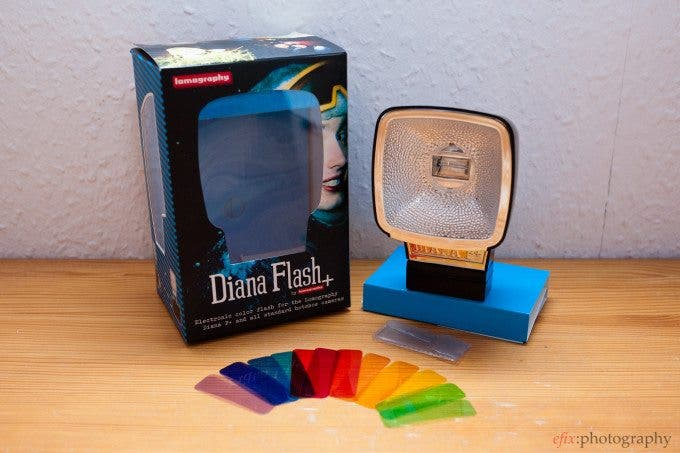 Review: Lomography Diana Flash+