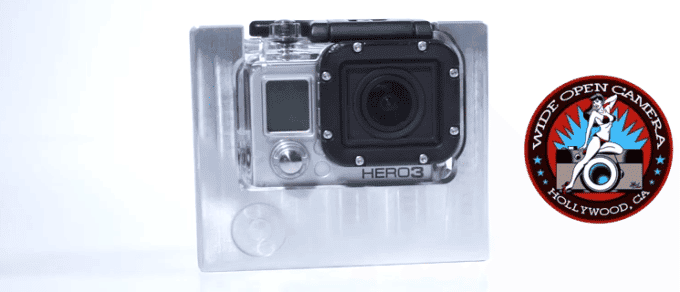 Wide Open Camera Combat Cage For The GoPro Hero 3