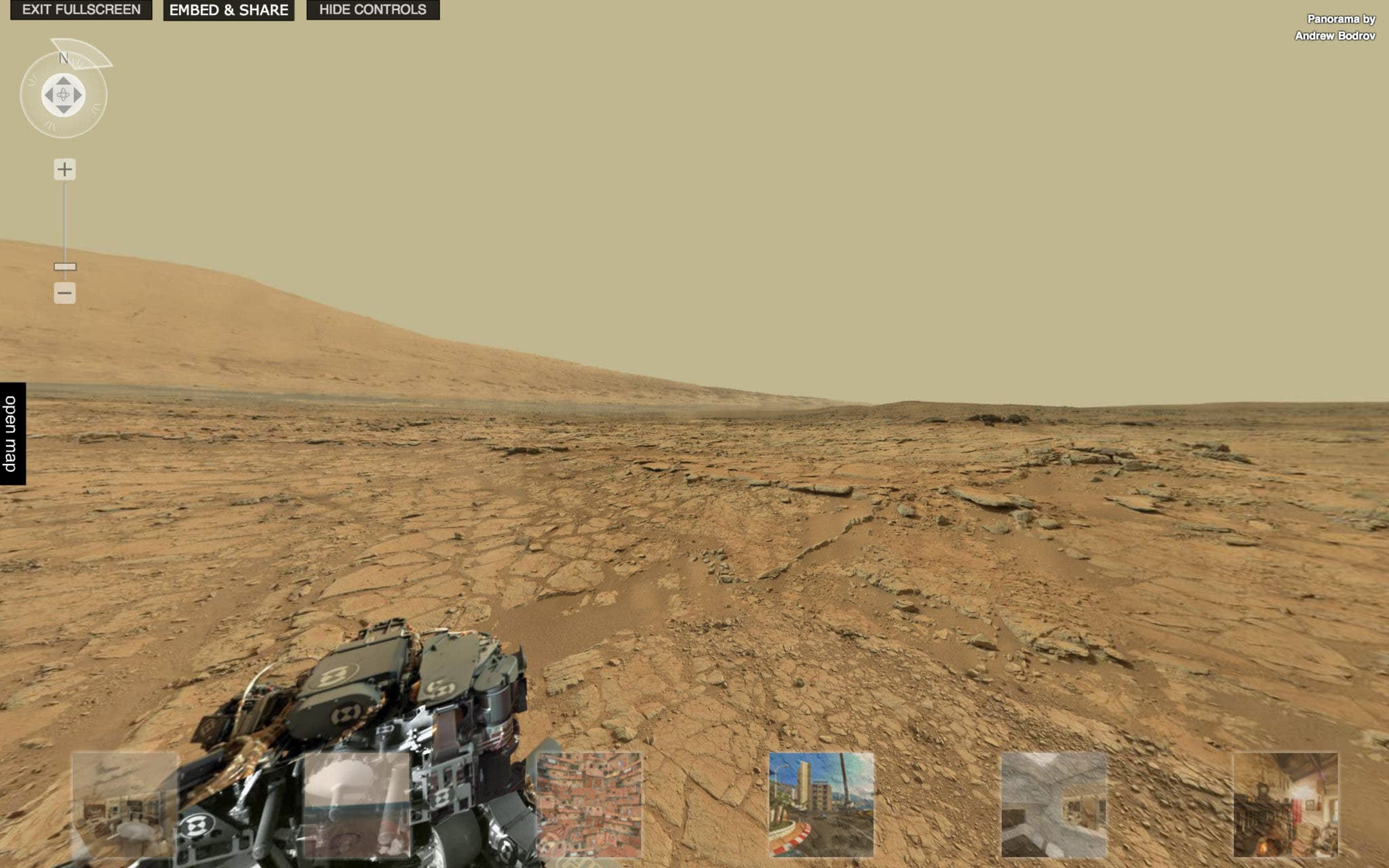 This is a 360 Panorama of Mars, And Not From Star Trek ...