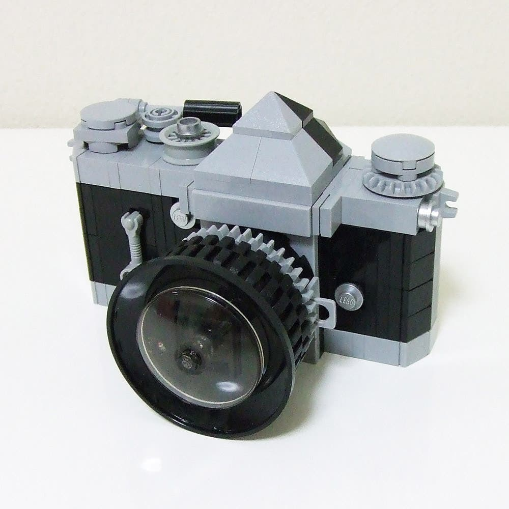 Four awesome cameras made from legos the phoblographer for Camera camera