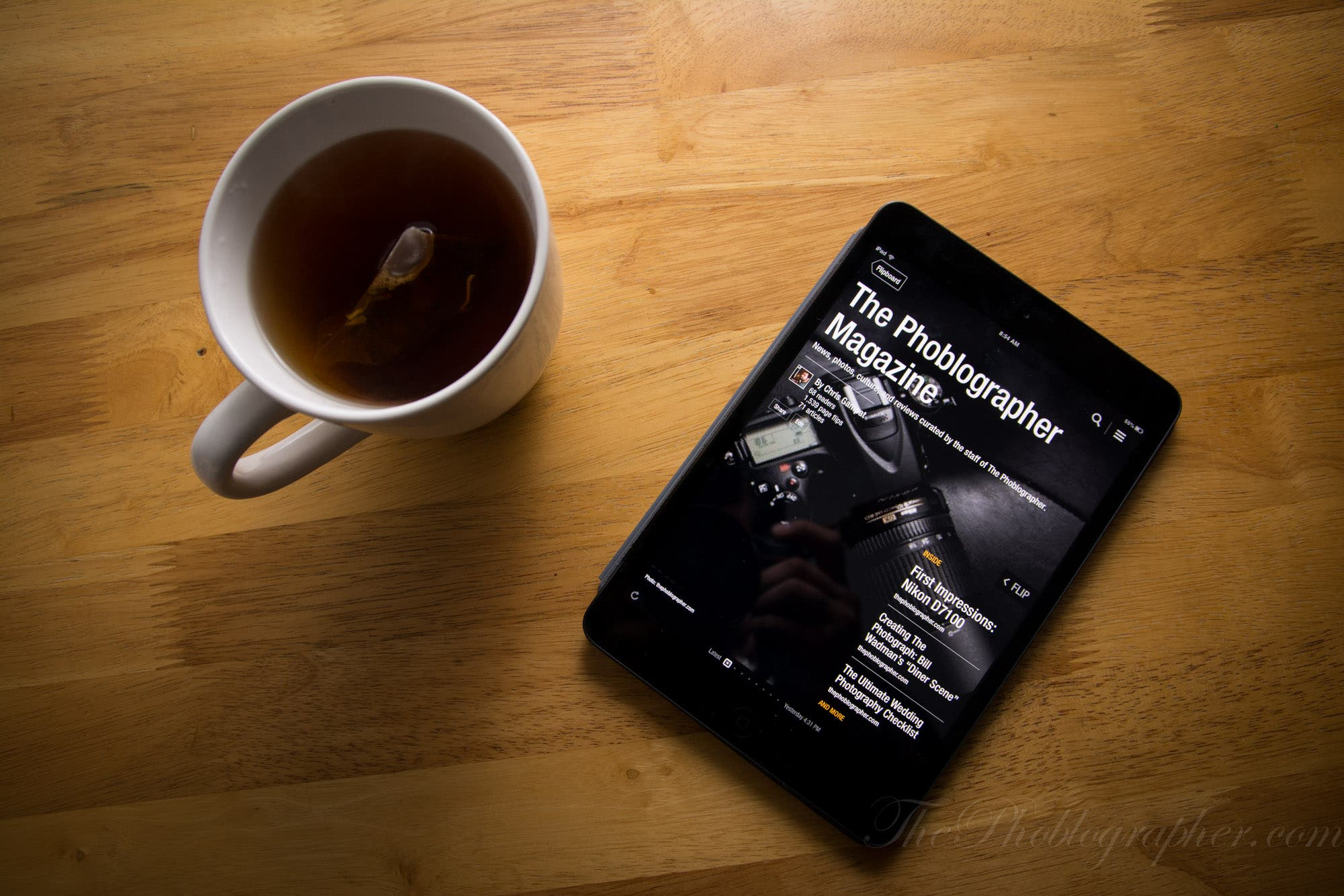 Quick Reminder: The Weekend Is Coming, So Kick Back and Read Us On Your Mobile Device
