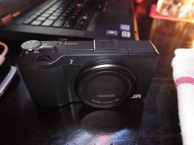 Chris Gampat The Phoblographer Ricoh GR first impressions product photos (1 of 8)ISO 16001-4 sec at f - 2.0