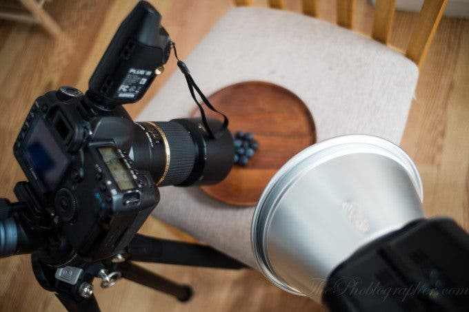 Pro Tip: Stopping the lens down a whole is going to require more power from the flash and even a higher ISO setting.