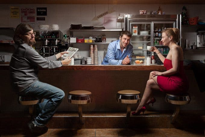 "Creating The Photograph: Bill Wadman's ""Diner Scene"""