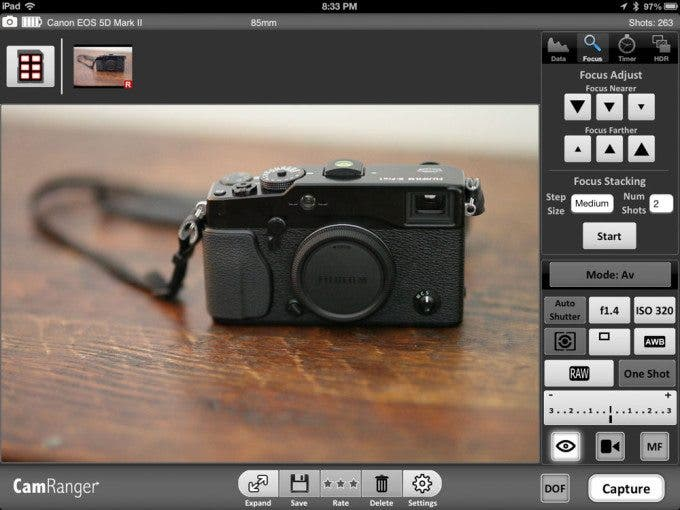 Lots of focus control options which is convenient for product photographers