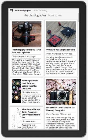The Phoblographer is Now on Google Currents - The Phoblographer