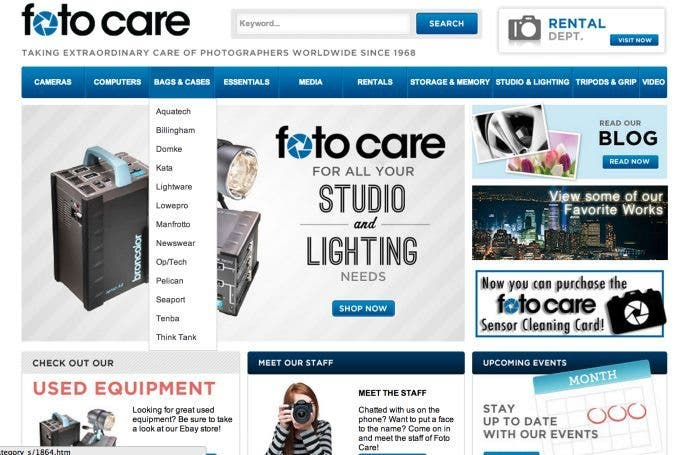 Fotocare Launches Revamp of Website: And It's Actually Functional Now
