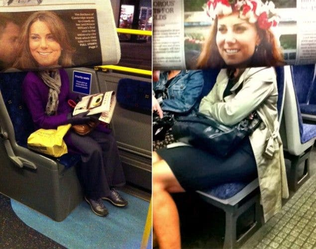 Commuter Takes Street Photos of Others Involving Newspapers and Forced Perspective