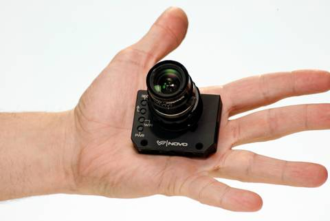 The Novo Is As Small As A Gopro But Takes C Mount Lenses