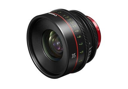 Canon is Working on a 35mm Cinema Prime Lens