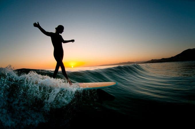 Motion of the Ocean: Chatting with Surf Photographer Chris Burkard
