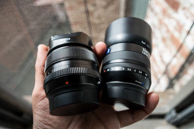 Chris Gampat The Phoblographer Fujifilm vs Zeiss comparison product shots (3 of 3)ISO 4001-500 sec at f - 2.8