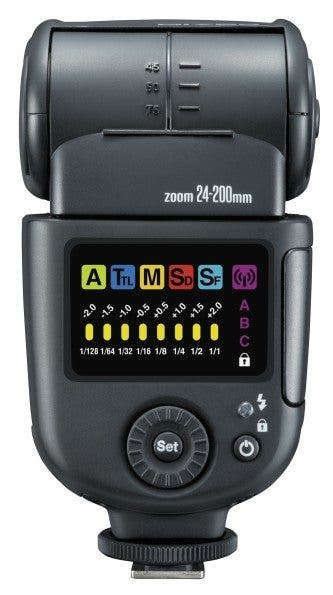 Nissin's New Di700 Speedlight Comes With a Huge Color LCD