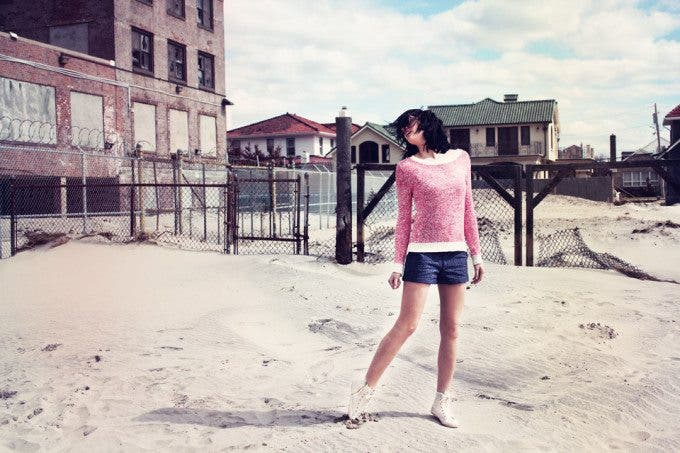 Fashion Label Uses Hurricane Sandy Ruins as Backdrop for Advertisements