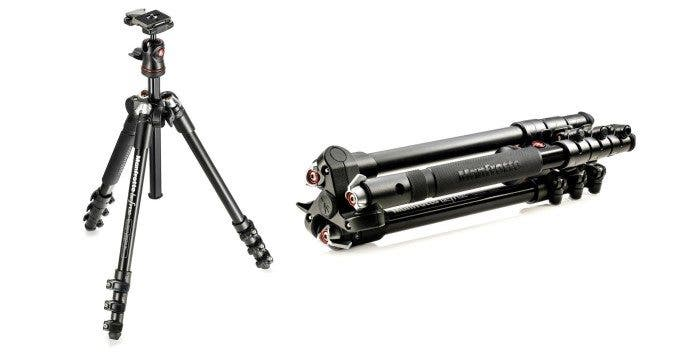 Manfrotto's New BeFree Compact Tripod is Aimed at the Photographer on the Go