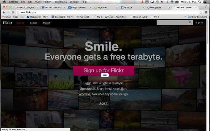 Weekend Humor: Flickr's 1 TB Per User Ends After Three Days