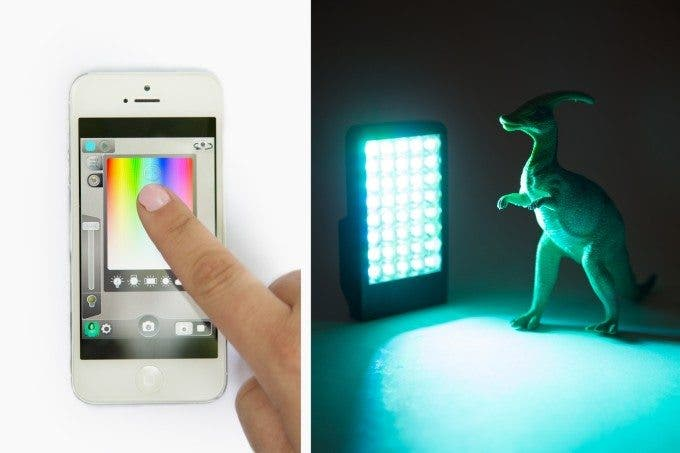 Photojojo's The Kick Light is a Light Studio That Attaches to Your iPhone