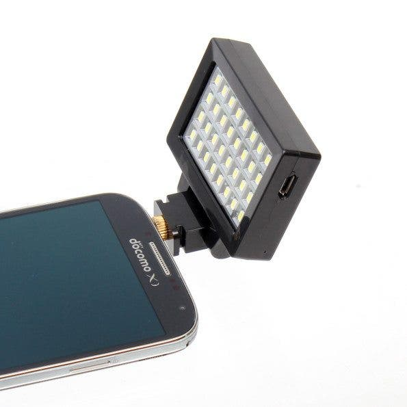 Thanko Releases 32 LED Smartphone Flash That Boosts Your Phone's Lighting Capabilities