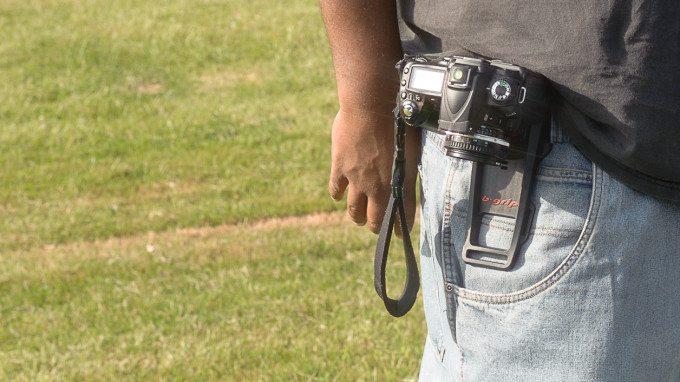 B-Grip EVO Camera Belt Grip  20130622Gservo-5404