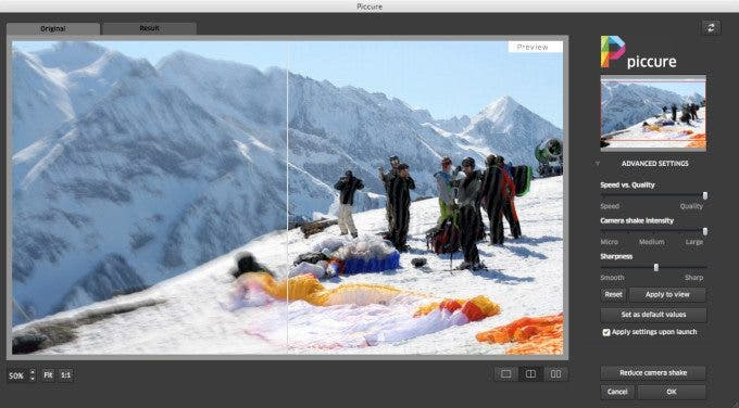 Piccure is a Photoshop Plug-In for Photographers With Shaky Hands
