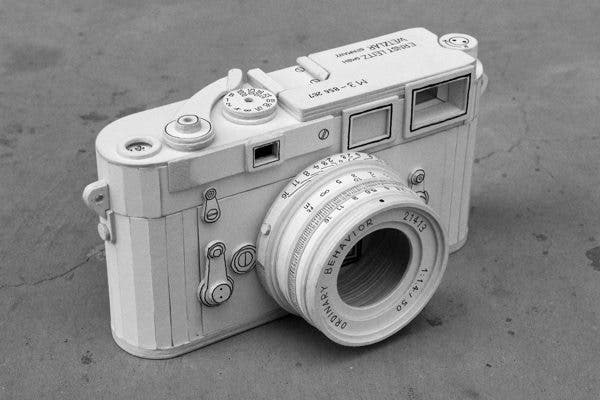 Papercraft Leica M3 is Pretty Awesome