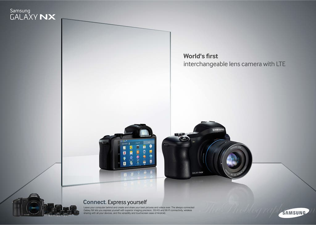 Samsung's New Galaxy NX Camera Is Your New Instagram Companion