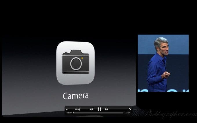 WWDC 2013: Apple Updates the Camera and iPhoto in iOS 7