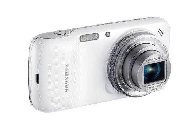 Samsung Galaxy S4 Zoom Front Slanted