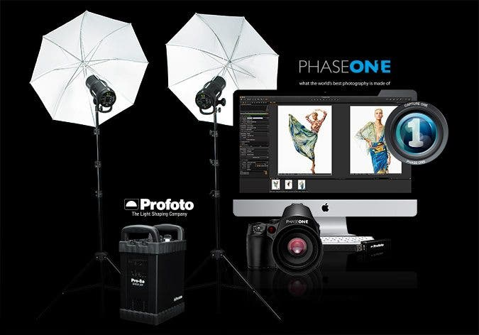 Profoto Lights and Phase One DSLRs Now Have TTL Integration With One Another