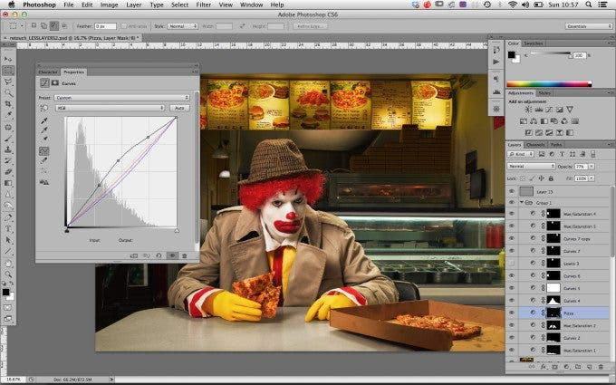 Ronald Post Production Still