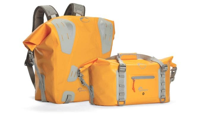 Lowepro's DryZone Roll-Top Series Will Keep Your Gear Dry in the Wettest of Situations