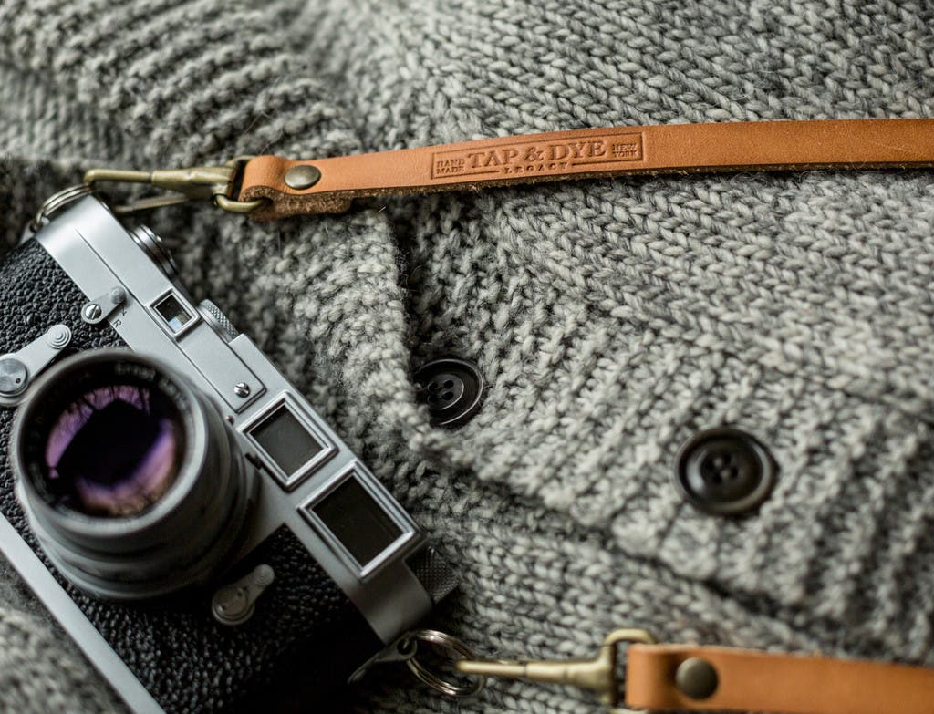 Tap and Dye's LEGACY Shoulder Camera Straps Now Come With Spring Clips