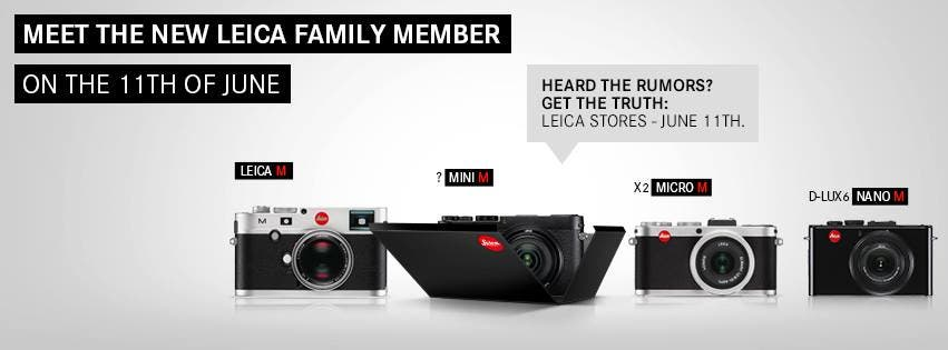 Leica's New Mini M Seems to Be Peeking Out of The Box Even More