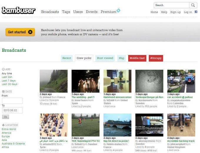 Associated Press Now Crowdsourcing Video Footage