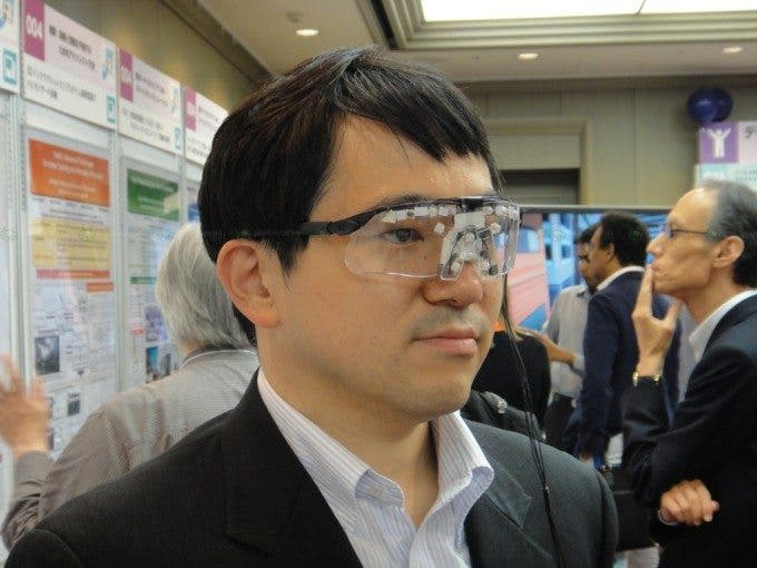 Infrared Anti Face Recognition Glasses