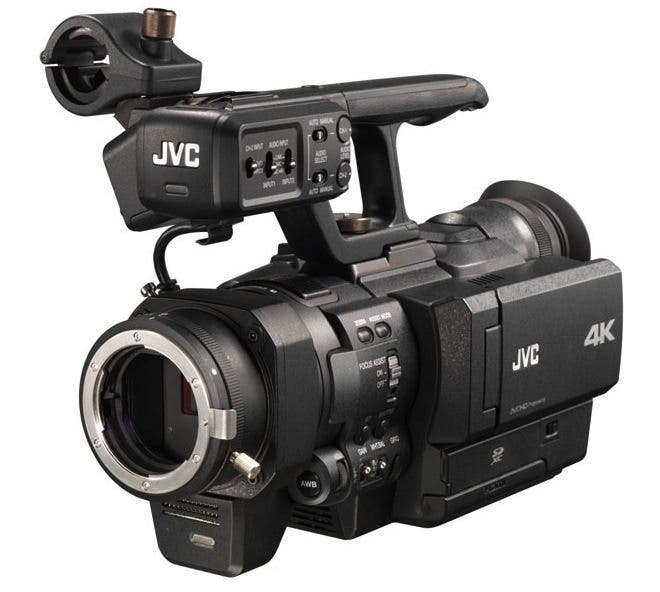 We wonder if the new 4K Micro Four Thirds camcorder from JVC will look anyting like this.