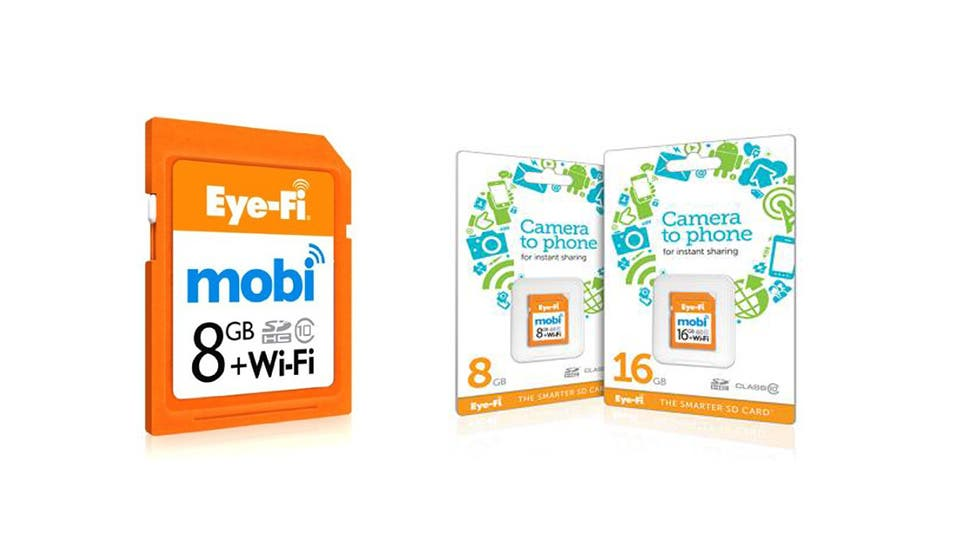 The New Eye-Fi Mobi Card Ports Images Directly To Your Phone or Tablet