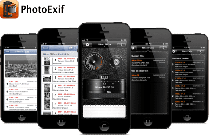 PhotoExif for iPhone