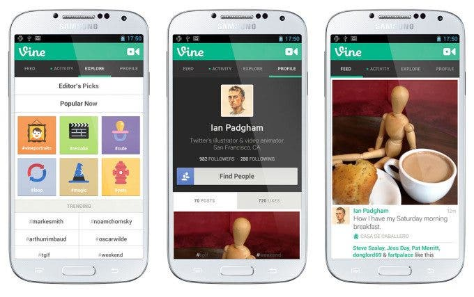 Now Android Users Too Can Share Videos of Their Cats With Vine