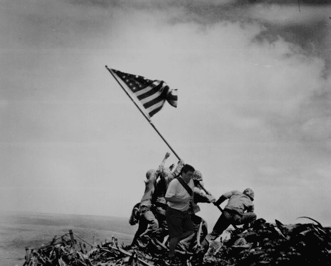 In the way of Iwo Jima